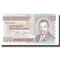 Billet, Burundi, 100 Francs, 2011, 2011-09-01, KM:44b, SPL - Burundi