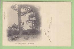 ARCACHON : Un Résinier En Forêt D'Arcachon. Dos Simple. TBE. 2 Scans. Edition Faure - Arcachon