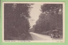 BIGANOS : La Route Dans La Forêt. TBE. 2 Scans. Edition Brana - Autres Communes