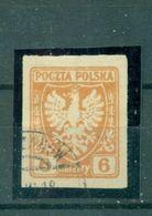Polen, Adler Nr. 57 Gestempelt - 1919-1939 Republik