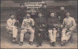 Foto-AK Erinnerung Landwehr-Übung Strassburg Inf.-Reg. 132, 26.6.1910 N. Breyell - Militaria