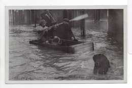 - CPA IVRY-SUR-SEINE (94) - Inondation 1910 - La Rue D'Ivry (belle Animation) - Série ROSE N° 12 - - Ivry Sur Seine