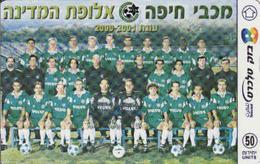 Israel, Football 2001 - Israel