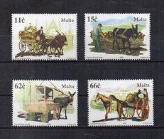 Malta - 2005 - Cavalli - Equini - 4 Valori - Nuovi - Vedi Foto - (FDC15864) - Malta