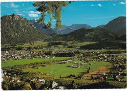 Blick Auf Reutte, Breitenwang, Lechaschau, Tauern 2864 M, Blattberg 2248 M, Bleispitze 227 M, Und Gartnerwand 1908 M - Reutte