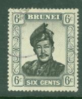 Brunei: 1952/58   Sultan Omar Saifuddin  SG104   6c     Used - Brunei (...-1984)