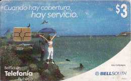 Bolivia, Islas Galapagos, Chip BellSouth - Bolivië