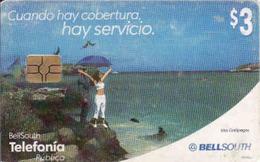 Bolivia, Islas Galapagos, Chip BellSouth - Bolivie