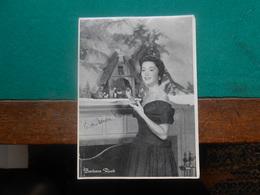 Foto Filmster  13 X 18 Cm  Barbara Rush - Photographs