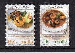 Malta - 2005 - Europa - Gastronomia - 2 Valori - Nuovi - Vedi Foto - (FDC15865) - Malta