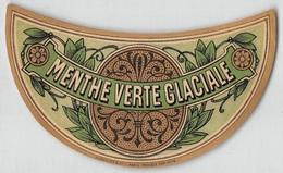 """D9311 """" MENTHE VERTE GLACIALI - PARIS """"GOMMATA AL VERSO ETICHETTA ORIGINALE, 1930 - Altri"""