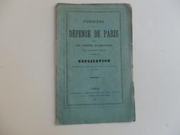 Fascicule 16 P. Panorama De La Défense De Paris Contre Les Armées Allemandes Par Philippoteaux. - Militaria