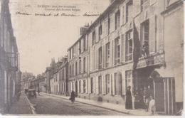 Bayeux Rue Des Bouchers Caserne Des Soldats Belges - Bayeux
