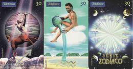 Horoscope Zodiac, Brasil Telefonica, 3 Pieces - Zodiaque