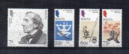 Malta - 2005 - Hans Christian Andersen - 4 Valori - Nuovi - Vedi Foto - (FDC15867) - Malta