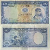 Portuguese Guinea Pick-number: 45a Uncirculated 1971 100 Escudos - Guinea