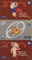 Horoscope - Zodiac, Brasil Telefonica, 3 Pieces - Zodiaco
