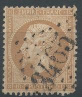 Lot N°49141  N°21, Oblit GC 3465 Soligny-la-Trappe, Orne (59), Ind 23 Ou Strasbourg, Bas-Rhin (67) - 1862 Napoléon III