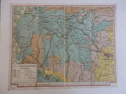 Cartes Du Haut-Rhin Allemand. A. Birckel-Ortlieb V.C. Reichenweier 1:15000. - Geographical Maps