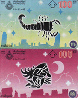 Horoscope - Zodiac, Thailand 2 Pieces - Zodiaque