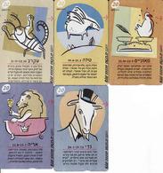 Horoscope - Zodiac, Israel 5 Pieces - Zodiaque