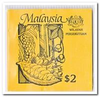 Wilayah Persekutuan 1987, Postfris MNH, Trees ( Booklet, Carnet ) - Maleisië (1964-...)