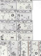 Horoscope - Zodiac, Austria Komplete Set 12 Pieces - Zodiaco