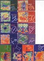 Horoscope - Zodiac, Turkey Complete Set 12 Pieces - Zodiaco