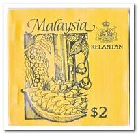 Kelantan 1987, Postfris MNH, Trees ( Booklet, Carnet ) - Maleisië (1964-...)