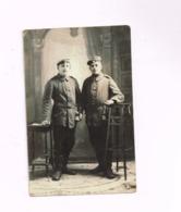 Deux Soldats Allemands.Studio Inzce Lajos,Sepsiszentgyorgy (Roumanie) - Guerre, Militaire