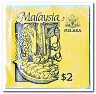Melaka 1987, Postfris MNH, Trees ( Booklet, Carnet ) - Maleisië (1964-...)