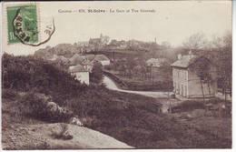Correze , St SOLVE , La Gare Et Vue Generale - Autres Communes