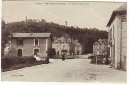 Correze , St AULAIRE GARE , Le Quartier De La Gare - Autres Communes