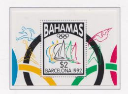 Bahamas Souvenir Sheet 1992 Barcelona Olympic Games MNH/** (H54) - Ete 1992: Barcelone
