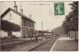Correze , VIGEOIS , La Gare - Autres Communes