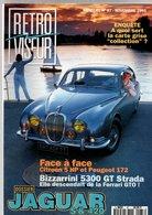 Rétroviseur N°87 Dossier Jaguar S & 420 - Face à Face Citroen 5 HP EtPeugeot 172 - Bizzarrini 5300 GT Strada - Auto/Moto