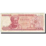 Billet, Grèce, 100 Drachmai, 1967, 1967-10-01, KM:196b, TTB - Zypern