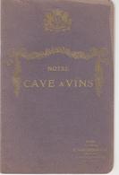 Carnet De Cave Maison E. Van Oudenhove - Alimentaire