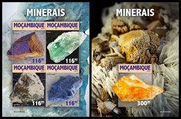 MOZAMBIQUE 2019 - Minerals. M/S + S/S. Official Issue [MOZ190306] - Mozambique