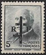 FRANCE LIBERATION   LA CHARITE Sur LOIRE 5f**vert Gravé..Signé MAYER - Liberation