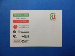 1982 ITALIA AEROGRAMMA POSTALE NUOVO NEW MNH** KNOXVILLE ENERGIA ENI FINMECCANICA 450 LIRE - Interi Postali