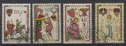 LIECHTENSTEIN - Michel - 1962 - Nr 420/23 - Gest/Obl/Us - Liechtenstein
