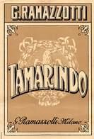 """D9320 """" TAMARINDO - G. RAMAZZOTTI """" LACCATA AL FRONTE, ETICHETTA ORIGINALE, 1930 - Altri"""