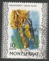 Montserrat. 1976 Official. 10c Used. SG O2 - Montserrat