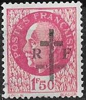 FRANCE LIBERATION   LA CHARITE Sur LOIRE 1f50**roseGravé..Signé MAYER - Liberation