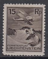 LIECHTENSTEIN - Michel - 1930 - Nr 108 - MH* - Poste Aérienne