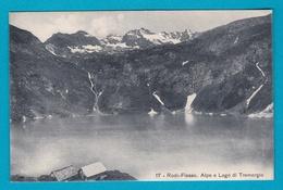 Svizzera Suisse - Ticino Rodi Fiesso Lago Di Tremorgio - FP Viaggiata - TI Tessin