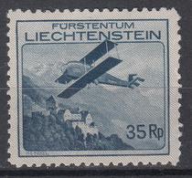 LIECHTENSTEIN - Michel - 1930 - Nr 111 - MH* - Poste Aérienne