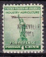 USA Precancel Vorausentwertung Preo, Locals Iowa, Knoxville 704,Stamp Thin - Vereinigte Staaten