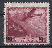 LIECHTENSTEIN - Michel - 1935 - Nr 148 - MH* - Poste Aérienne